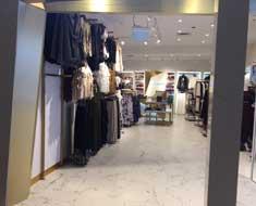 Fashion shop fitouts